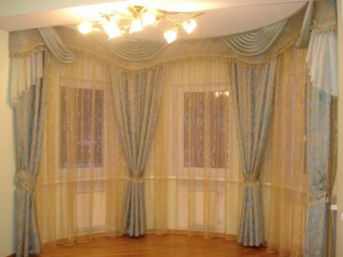 Как красиво сшить шторы для комнаты фото 807