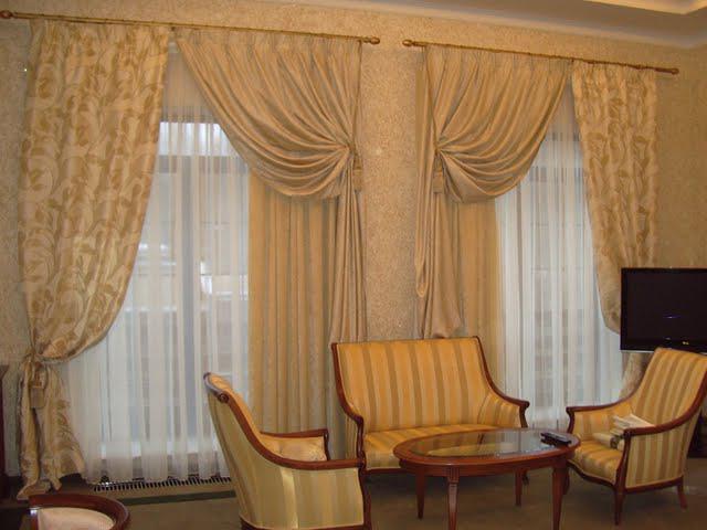 Сшить самим шторы для зала фото