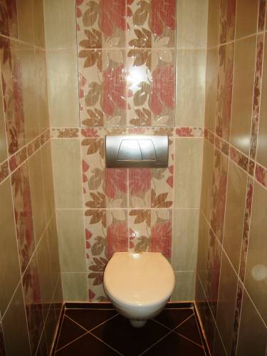 Ремонт в туалете как сделать ремонт в