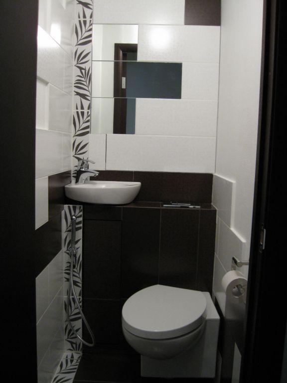 Дизайн туалета панелями