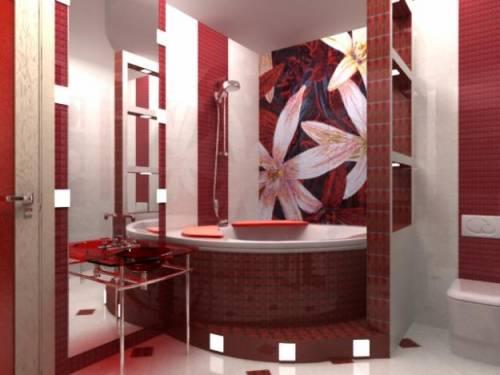 Ванная комната 2 на 3 дизайн фото