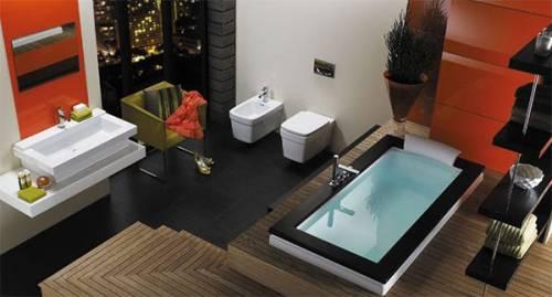 Дизайн совмещенной маленькой ванной комнаты