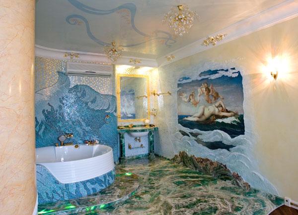 Красивые ванные комнаты фотоальбомы