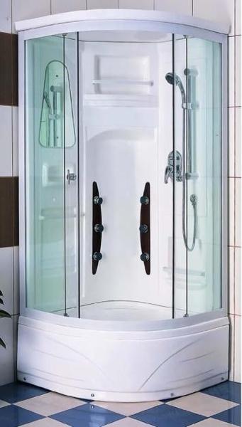Душевые кабины в интерьере ванной комнаты