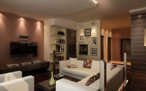 Дизайн зала 16 м в квартире