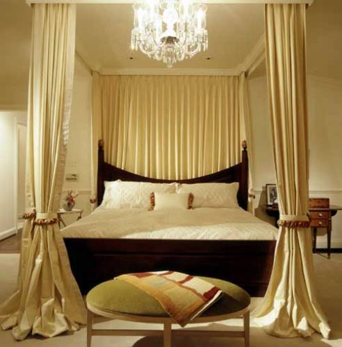 Интерьер спальни обои интерьер
