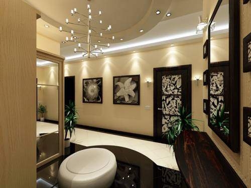 Дизайн интерьер прихожей в доме