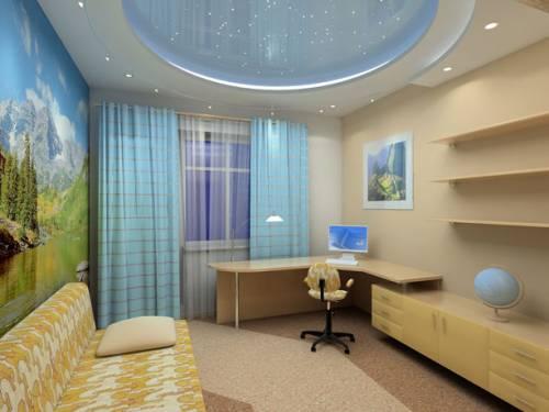 Дизайн гостиной 3 на 5.5 метров